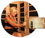 Luxsauna Reviews handicap fitness