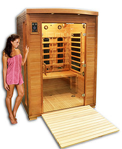 New far infrared sauna for detox