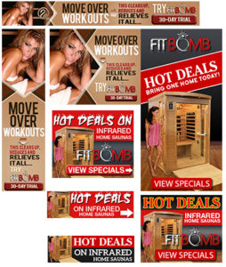 Affiliate Opportunity promoting and selling Luxsauna Far Infrared Fitness saunas